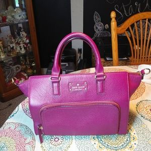 Kate Spade Raspberry Handbag